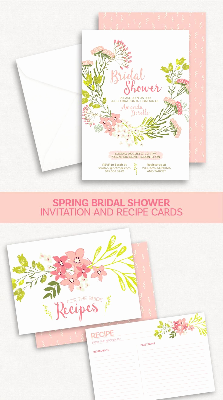 Bridal Shower Invitation Ideas Beautiful 1000 Ideas About Spring Bridal Showers On Pinterest