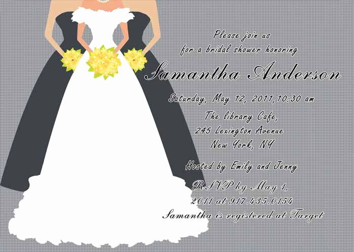 Bridal Shower Invitation Images Best Of Printable Grey Bridal Shower Invitation Cards Ewbs019 as