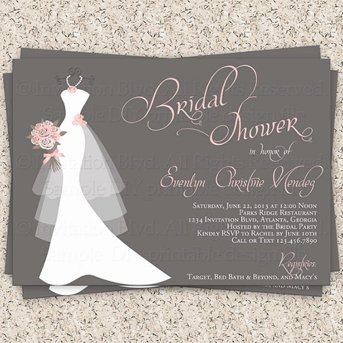 Bridal Shower Invitation Images Luxury 33 Psd Bridal Shower Invitations Templates