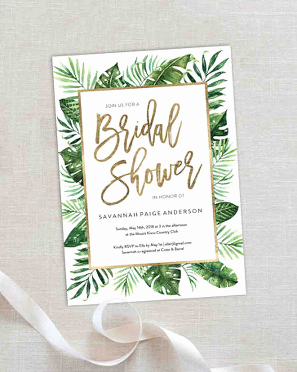Bridal Shower Invitation Images New 10 Affordable Bridal Shower Invitations You Can Print at