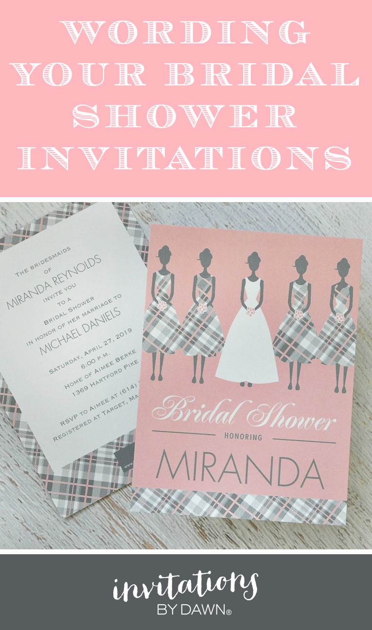 Bridal Shower Invitation Poems Awesome Wording Your Bridal Shower Invitations