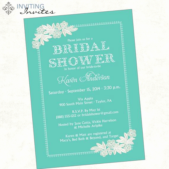 Bridal Shower Invitation Poems Best Of Lace Bridal Shower Invitation Printable Digital File
