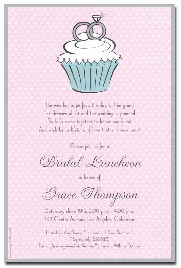 Bridal Shower Invitation Poems Elegant Bridal Shower Invitation Wording