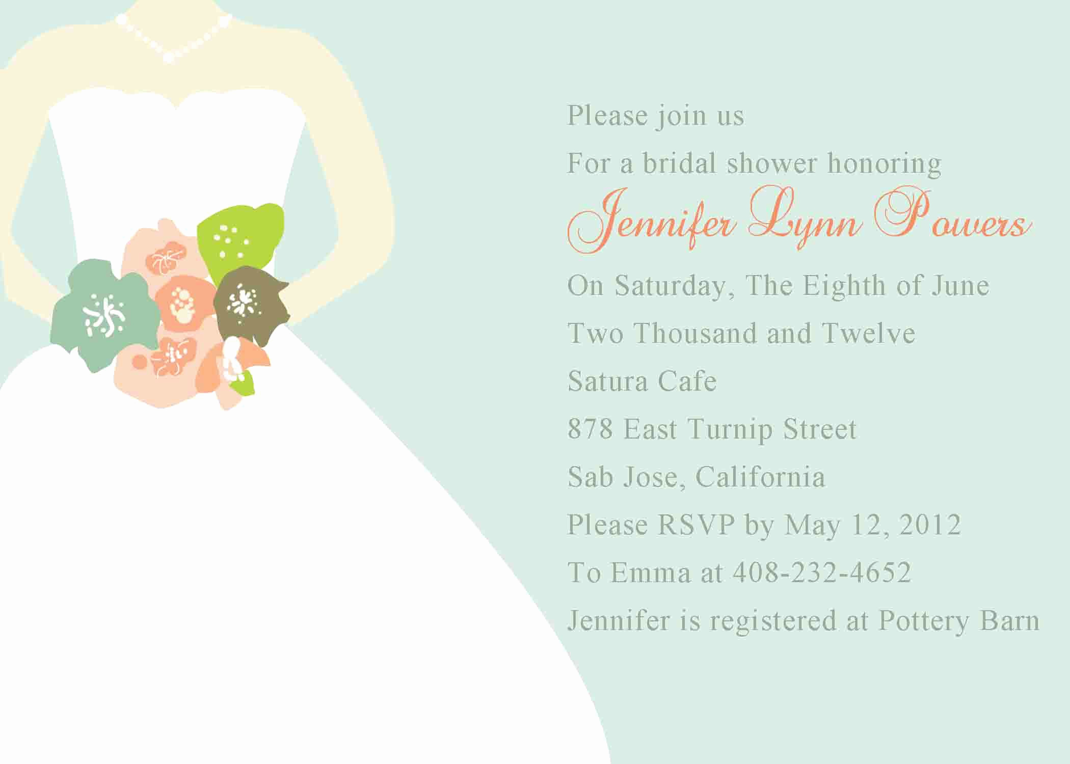 Bridal Shower Invitation Template Elegant Bridal Shower Invitation Templates Bridal Shower