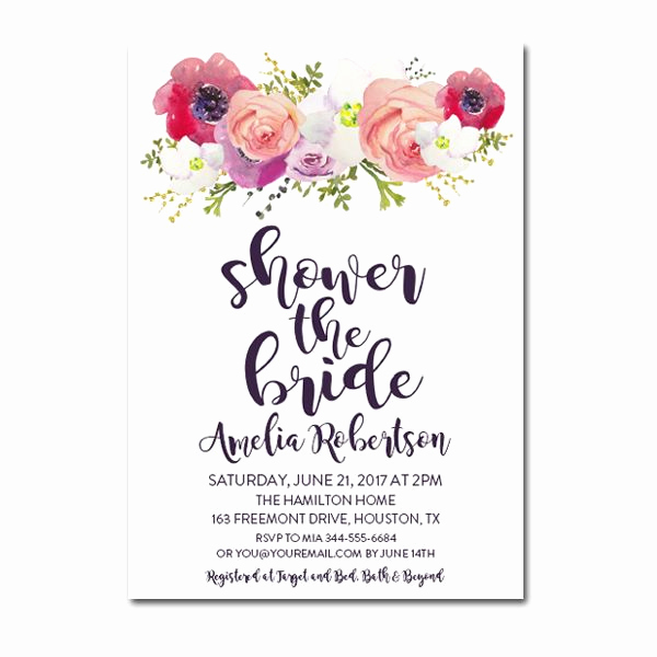 Bridal Shower Invitation Template Free Best Of Free Printable Editable Pdf Bridal Shower Invitation Diy