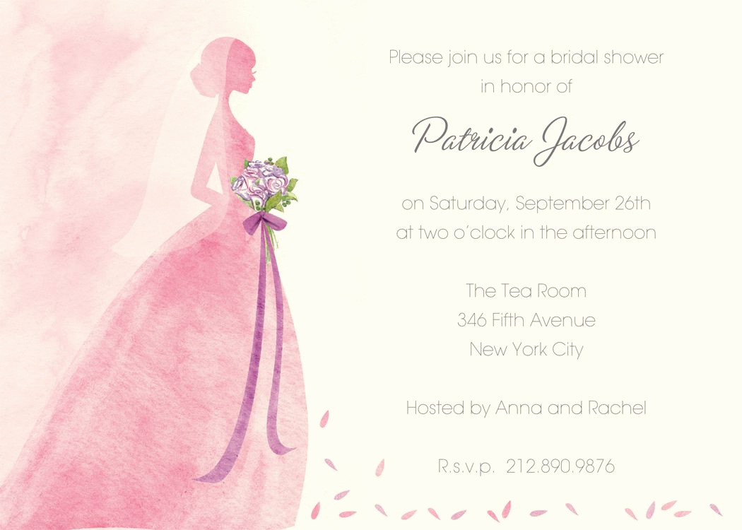 Bridal Shower Invitation Template Free New Bridal Shower Invitation Templates Bridal Shower