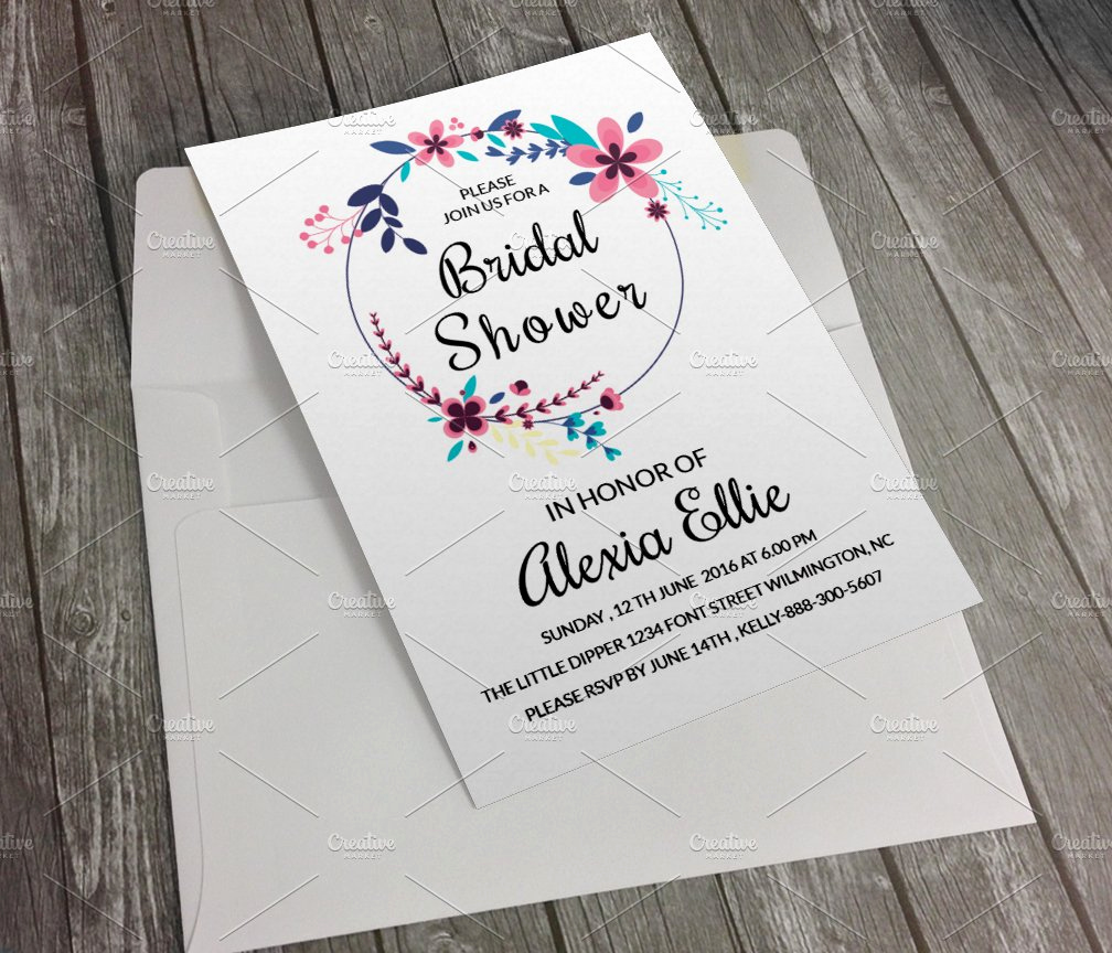 Bridal Shower Invitation Template Fresh Bridal Shower Invitation Template Invitation Templates