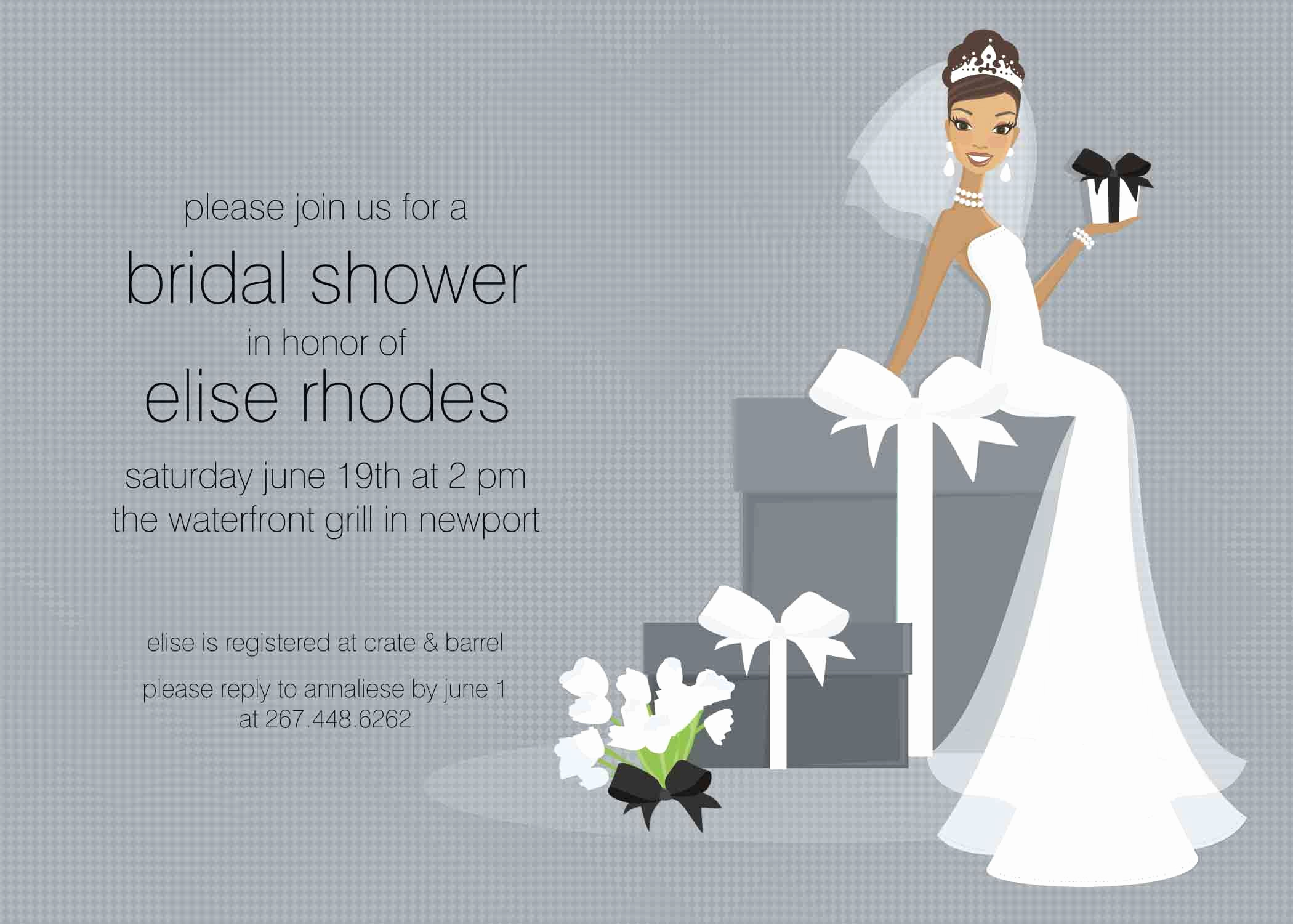 Bridal Shower Invitation Templates New Free Bridal Shower Invitation Templates