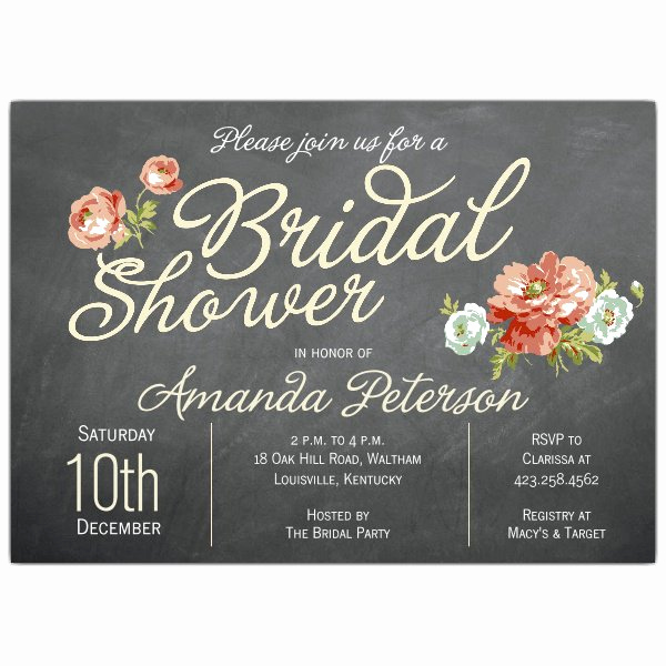 Bridal Shower Invitation Wording Best Of Finchley Cream Bridal Shower Invitations
