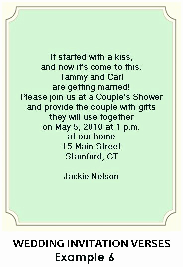 Bridal Shower Invitation Wording Luxury Wedding Shower Poems and Quotes Quotesgram