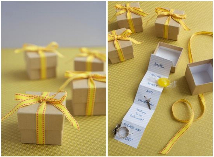 Bridesmaid Invitation Box Ideas Beautiful top 10 Diy Invitations for Your Bridemaids top Inspired