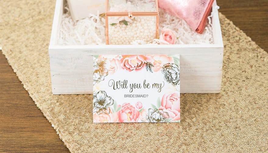 Bridesmaid Invitation Box Ideas Beautiful Will You Be My Bridesmaid Best Bridesmaid Proposal Ideas
