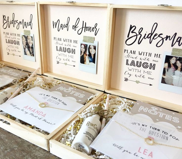 Bridesmaid Invitation Box Ideas Inspirational Personalised Bridesmaid Gift Ideas Guli Diving