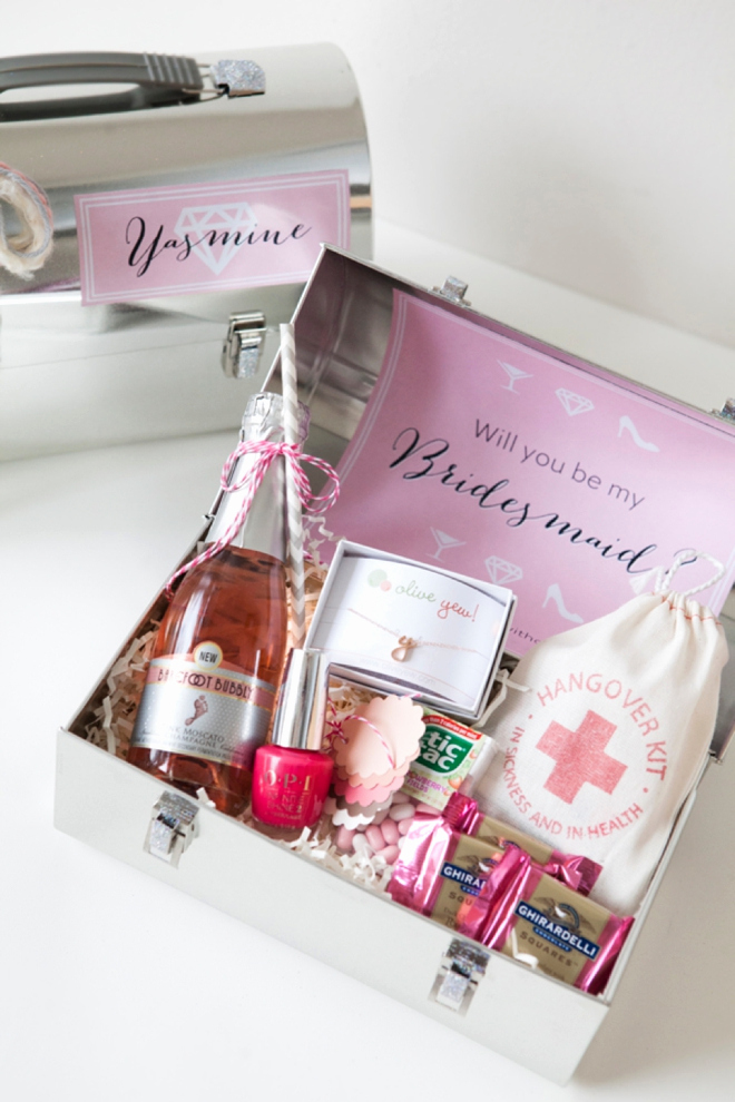 Bridesmaid Invitation Box Ideas Luxury Bn Living Wedding Diy Making Bridesmaid Proposal Boxes
