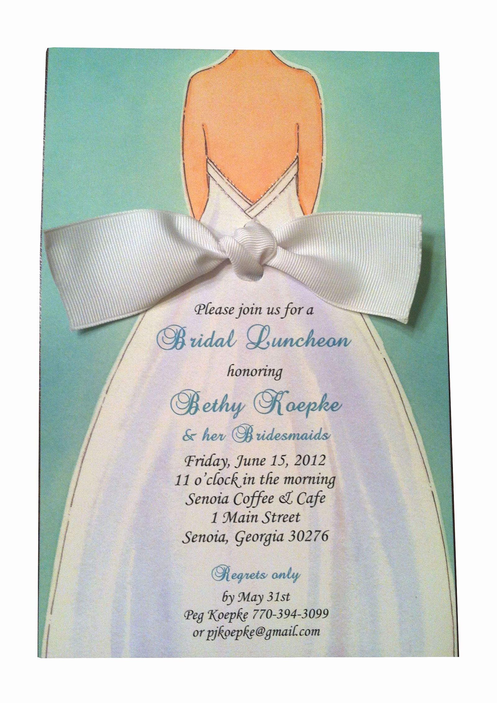 Bridesmaid Luncheon Invitation Wording Awesome Bridal Shower Invitation Pure Design Graphics
