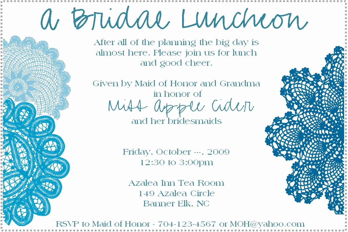 Bridesmaid Luncheon Invitation Wording Beautiful Business Lunch Invitation Templates