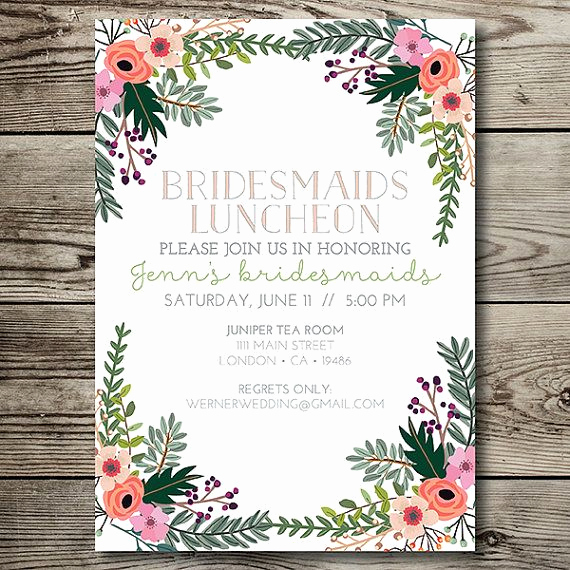 Bridesmaid Luncheon Invitation Wording Best Of Best 25 Bridesmaid Luncheon Ideas On Pinterest