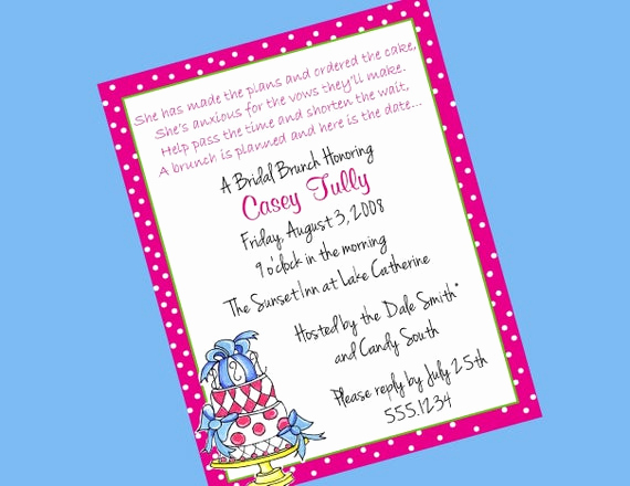 Bridesmaid Luncheon Invitation Wording Best Of Invitations for Pta Luncheons