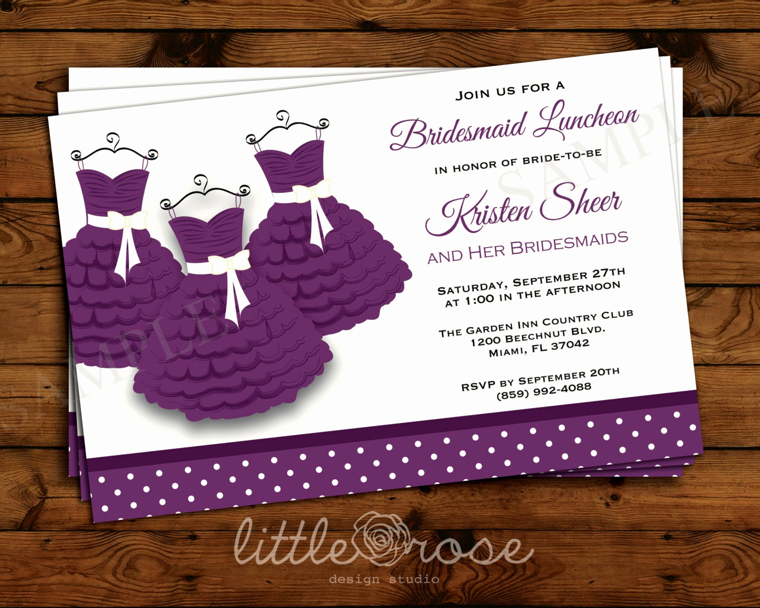 Bridesmaid Luncheon Invitation Wording Luxury Bridesmaid Luncheon Invitation Bridesmaid Brunch Invite