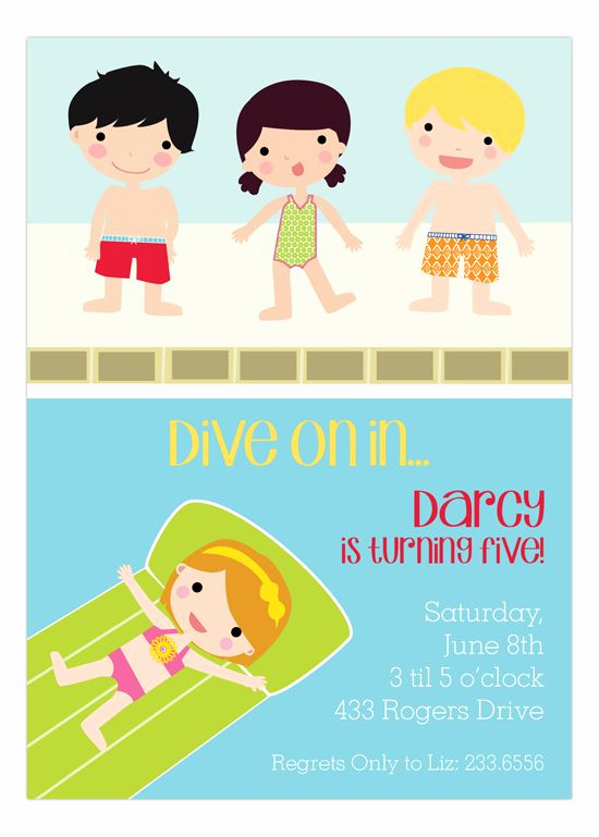 Bring Your Swimsuit Invitation Awesome 17 Best Images About Pool Party Invitations On Pinterest