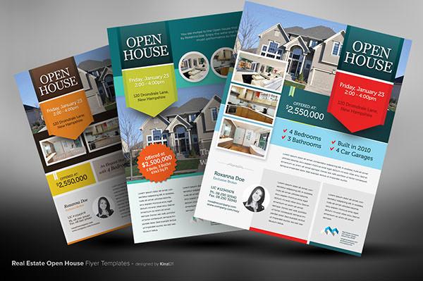 Broker Open House Invitation Lovely 44 Psd Real Estate Marketing Flyer Templates