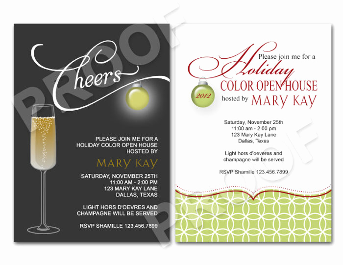 Broker Open House Invitation Unique Christmas Open House Invitations Templates Templates