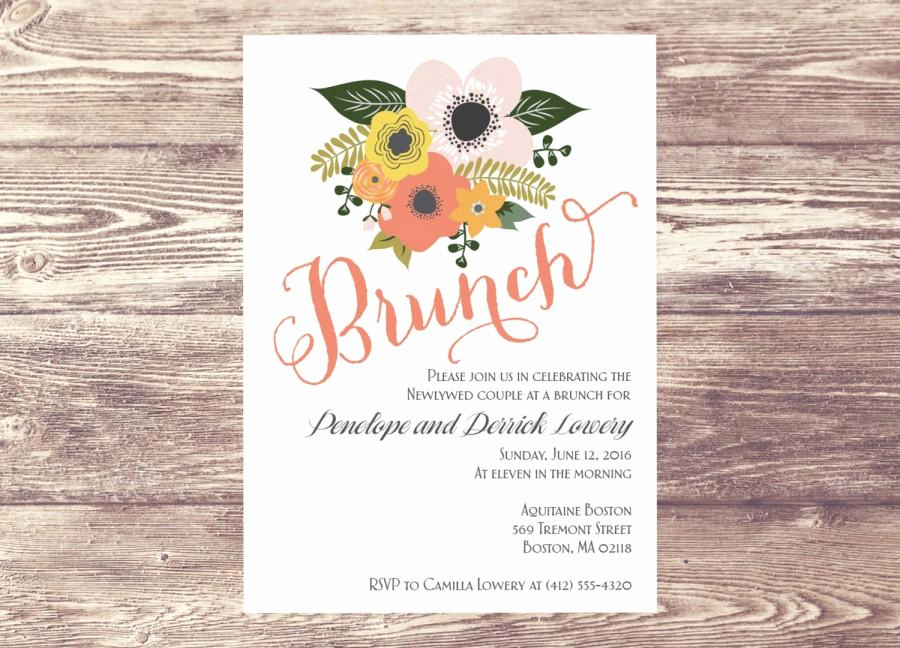 Brunch Invitation Wording Examples Fresh Brunch Baby Shower Invitations Party Xyz