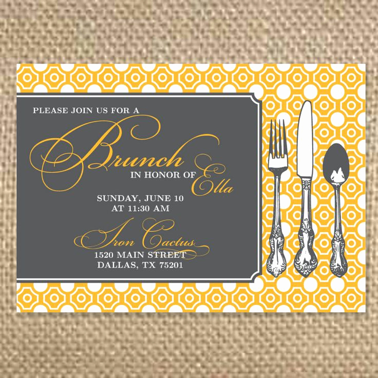 Brunch Invitation Wording Examples Lovely Best 25 Brunch Invitations Ideas On Pinterest