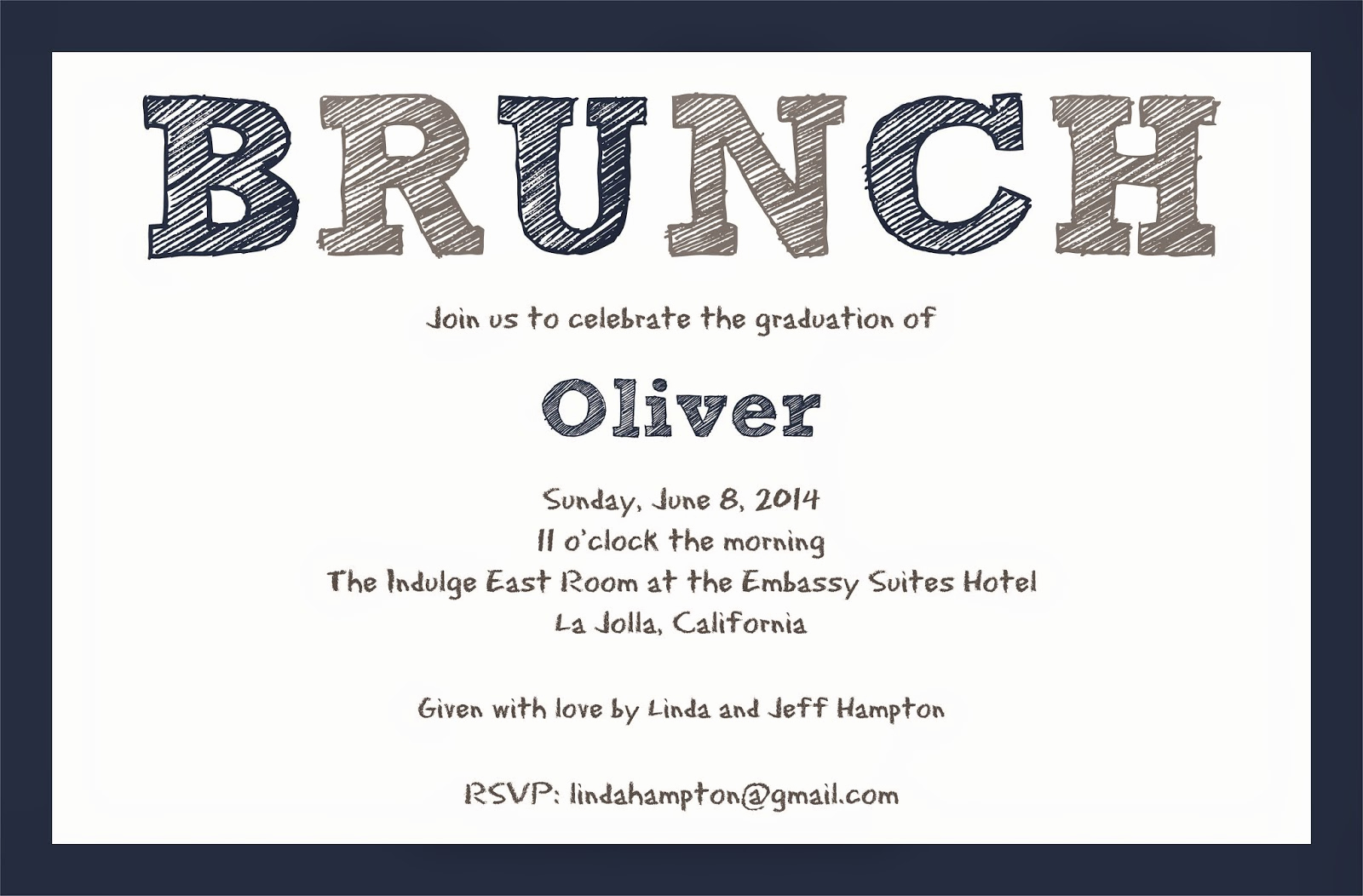 Brunch Invitation Wording Examples Lovely Paperworkshop