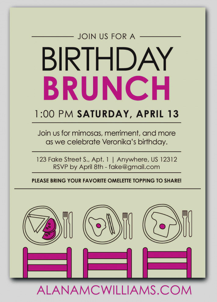 Brunch Invitation Wording Examples Luxury 47 Birthday Breakfast Invitation Wording Pics C1x