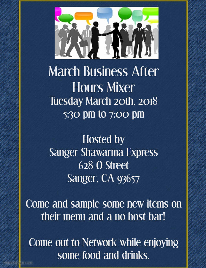 Business after Hours Invitation Lovely March Business after Hours Mixer – Sanger Chamber Of Merce