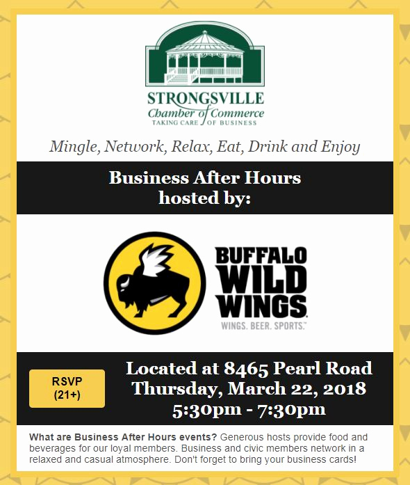 Business after Hours Invitation Luxury Strongsville Business after Hours Nocce