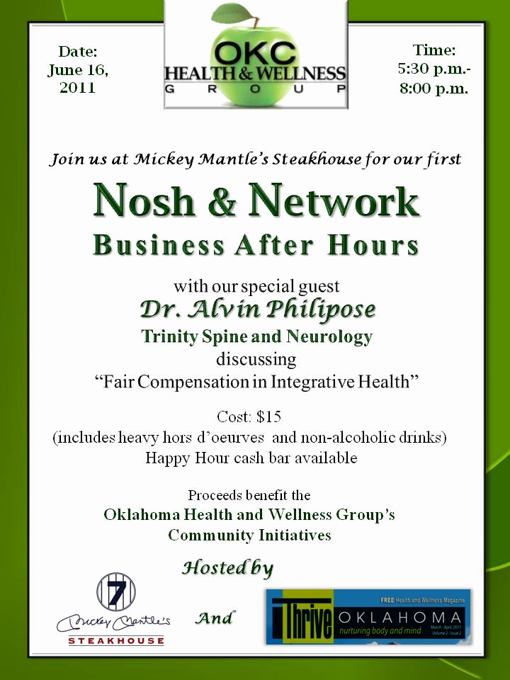 Business after Hours Invitation Unique Nosh and Network Business after Hours Tickets Thu Jun 16