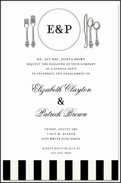 Business Dinner Invitation Template Beautiful 6 Business Dinner Invitation Template Free