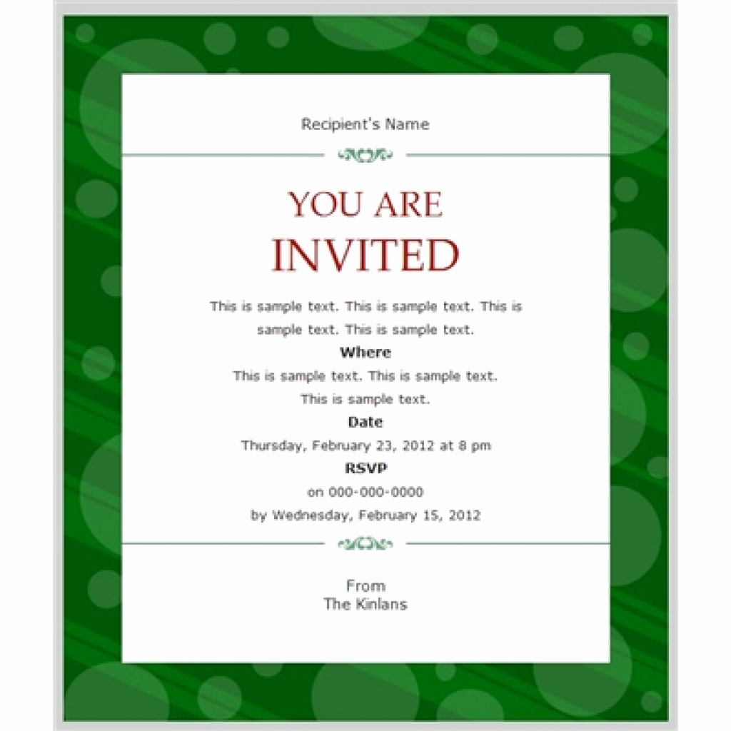 Business Dinner Invitation Template Best Of Business Invitation Templates Free
