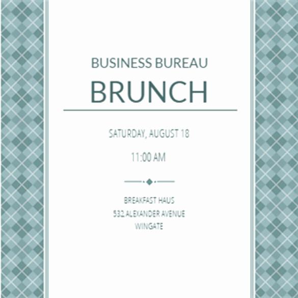 Business Dinner Invitation Template Elegant 29 Business Invitation Templates Psd Vector Eps Ai