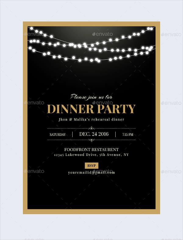 Business Dinner Invitation Template Elegant 47 Dinner Invitation Templates Psd Ai