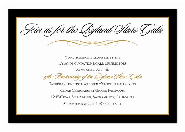 Business Dinner Invitation Template Inspirational 16 Corporate Dinner Invitations Psd Ai