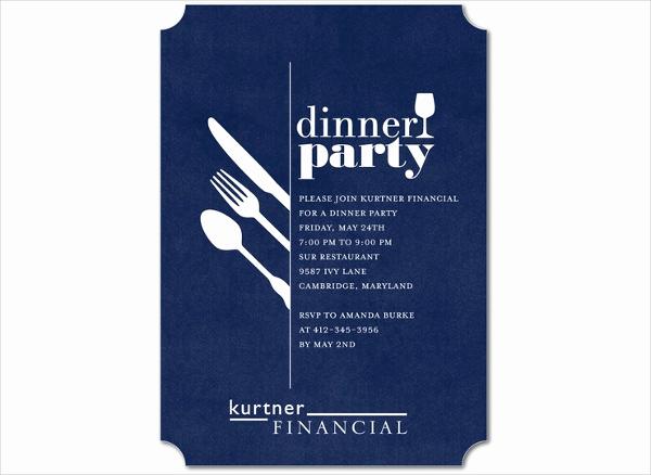 Business Dinner Invitation Template Lovely 46 event Invitation Templates