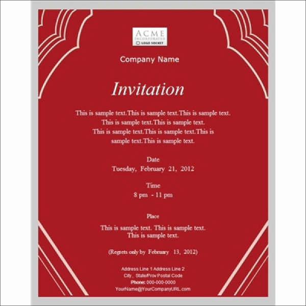Business Dinner Invitation Template Luxury 13 Work Dinner Invitations Word Psd Publisher