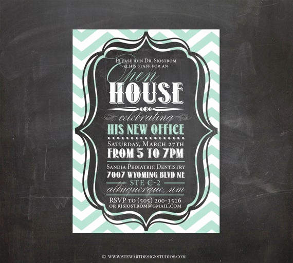 Business Open House Invitation Awesome Items Similar to Open House Invitation Personalized Diy