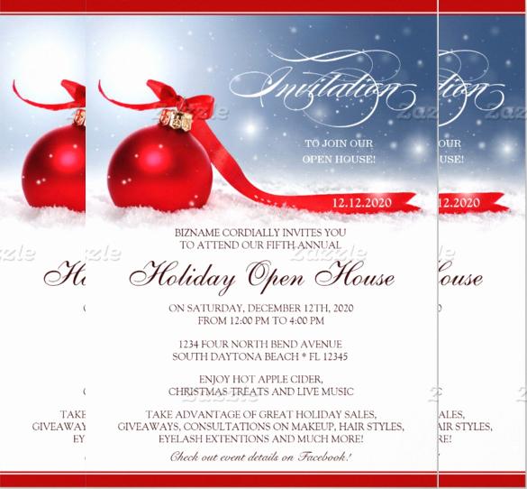 sample open house invitation