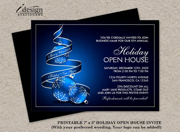 Business Open House Invitation Luxury 31 Business Invitation Templates Psd Word Ai