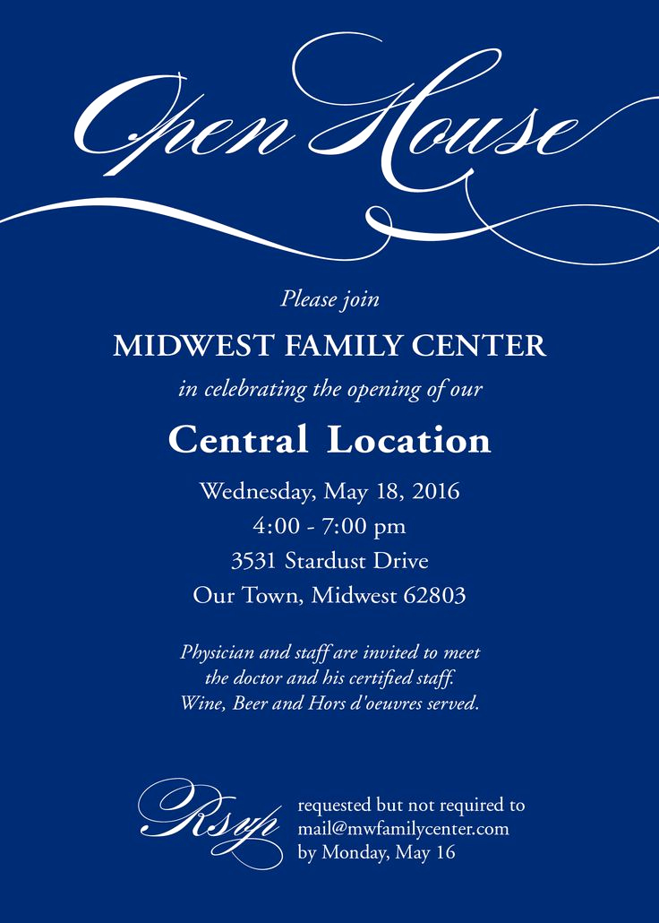 Business Open House Invitation New 25 Best Ideas About Open House Invitation On Pinterest