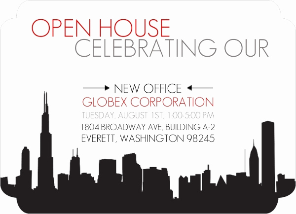 Business Open House Invitation Wording Best Of New Fice Corporate Open House Invitation