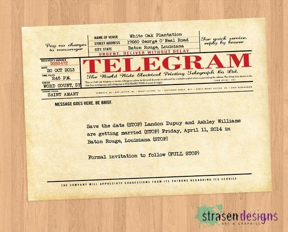 Call Of Duty Invitation Template Fresh Telegram Shower Wedding or Birthday Party Diy Printable