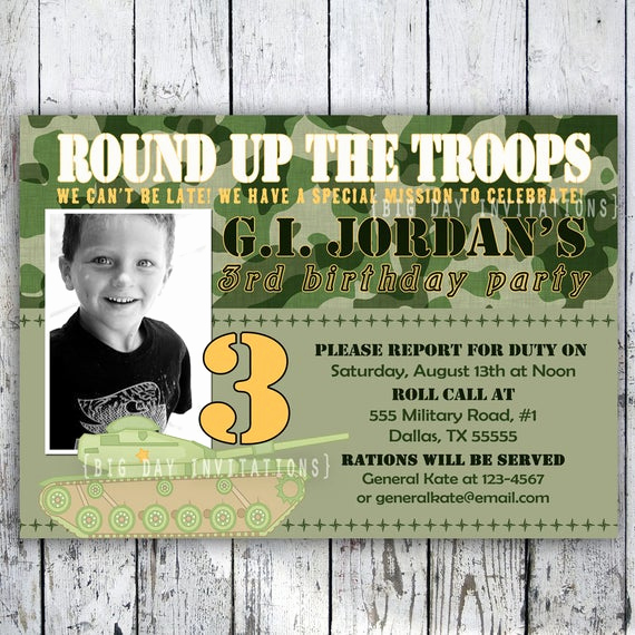 Call Of Duty Invitation Template Lovely Camo Printable Invitation Camoflauge Personalized Birthday