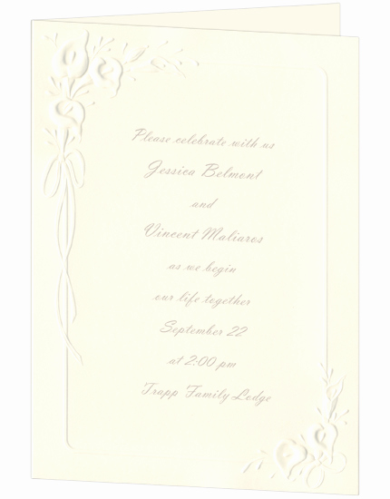 Calla Lily Wedding Invitation Awesome Printable Calla Lily Ecru Wedding Invitation