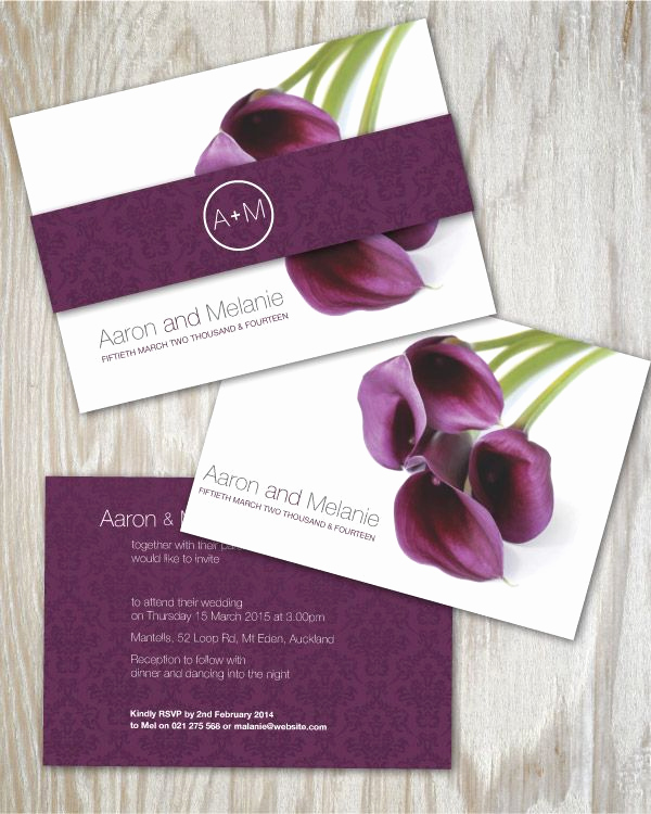 Calla Lily Wedding Invitation Inspirational 1000 Ideas About Purple Calla Lilies On Pinterest