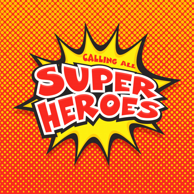 Calling All Superheroes Invitation Beautiful Calling All Super Heroes Vector